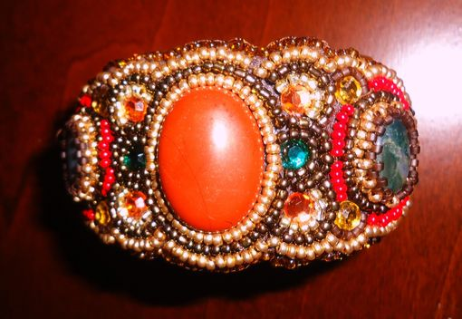 Custom Made Hand Made  Bead Bracelet