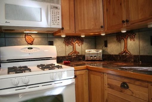 Custom Made Kitchen Back-Splash