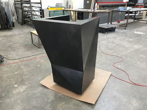 Custom Made #38 Abstract Hostess Stand And Podium