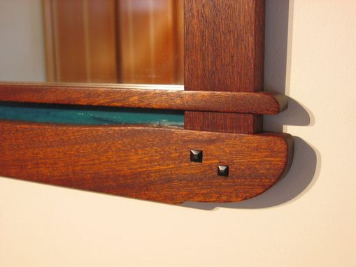 Custom Made Greene & Greene Mirror Frame