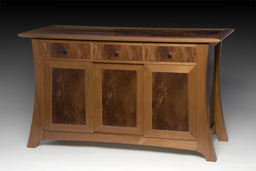 Custom Made Tom And Kathy's Mahogany Buffet