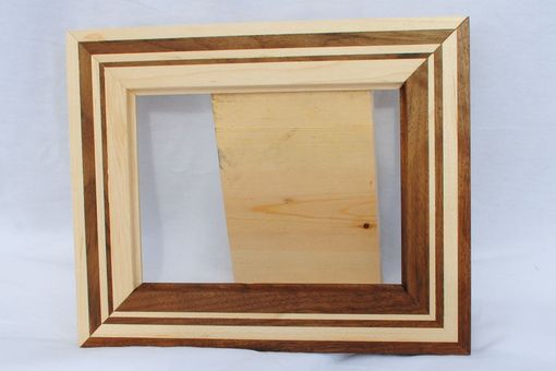 Custom Made Reversed Two Tone Picture Frame