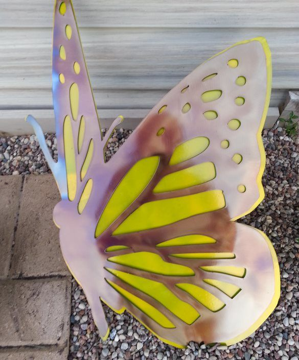 Buy a Custom Butterfly Metal Wall Art, made to order from Superior ...