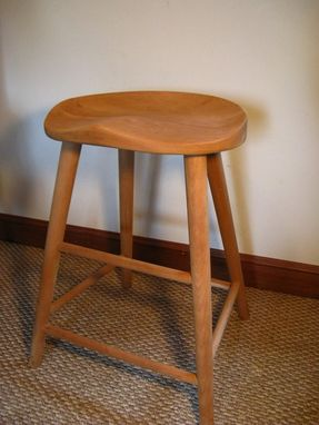 Custom Made Tractor Stool