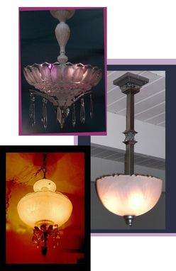 Custom Made Custom Pendant Lighting