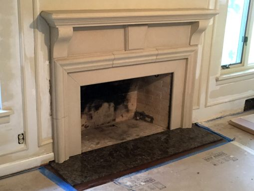 These custom made fireplace mantels can be created to fit your living room