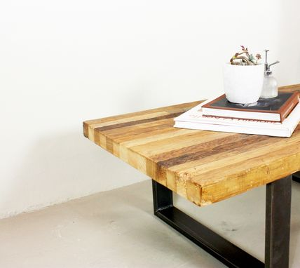 Custom Made Reclaimed Patchwork Timber Coffee Table