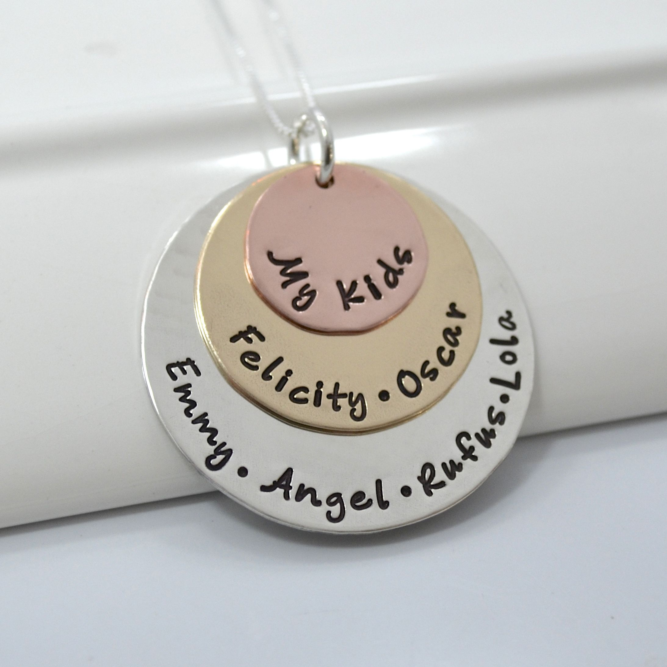 hand necklace products img amazing stamped grace
