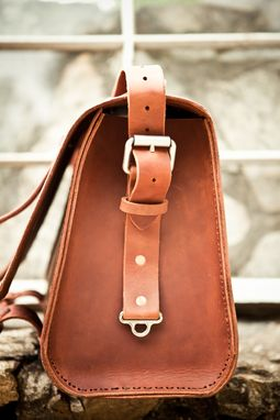 Custom Made No. 4311 - Grunge Leather Satchel - Limited Supply