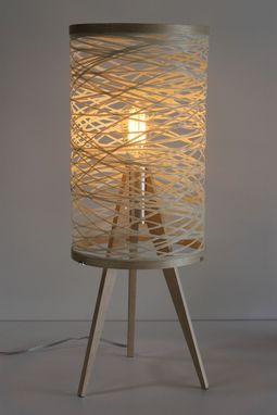 Custom Made Sinuous Table Lamp