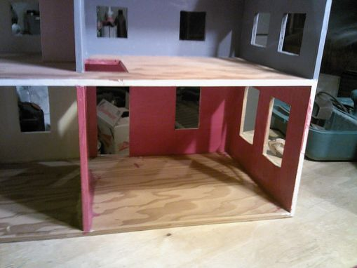 Custom Made Refinished Doll House