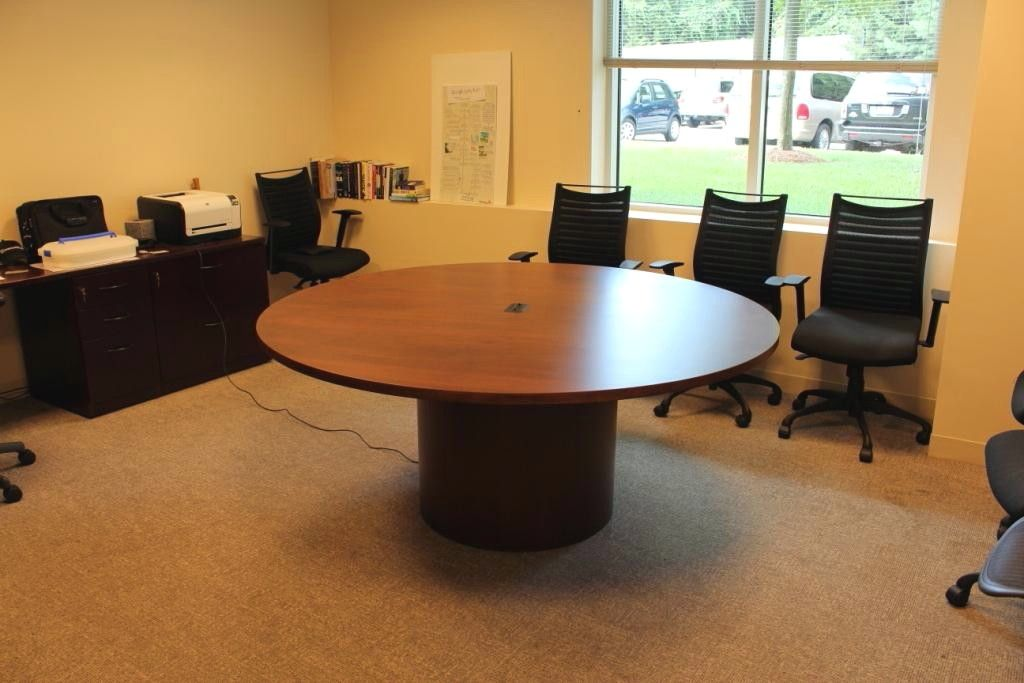 Custom Circle Table By R J Hoppe, 72 Inch Round Conference Table