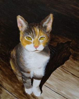 Custom Made Small Pet Portrait,