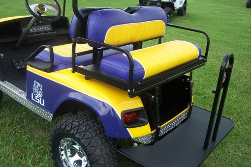 Handmade Lsu Golf Cart By Bayou Boogie Customs
