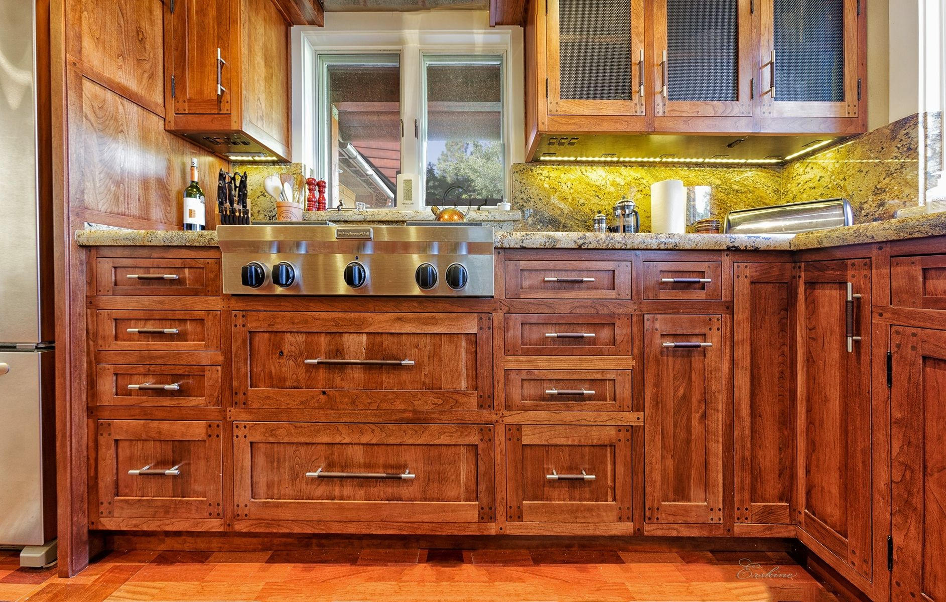 Custom Cherry Kitchen Cabinetry By Bratt Brothers