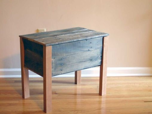 Custom Made Ottoman Made From Pallets