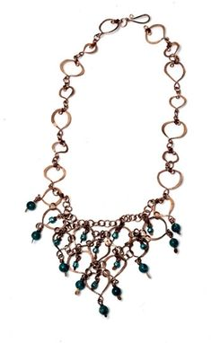 Custom Made Copper   Chainmaille  Necklace