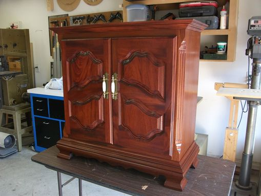 Custom Made Handmade Small Cabinet