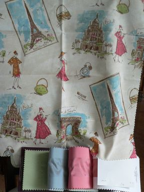 Custom Made Parisian Bedding For Girls