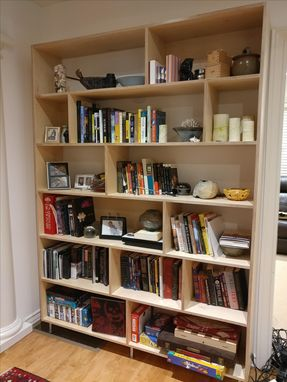 Custom Made Birch Bookshelf
