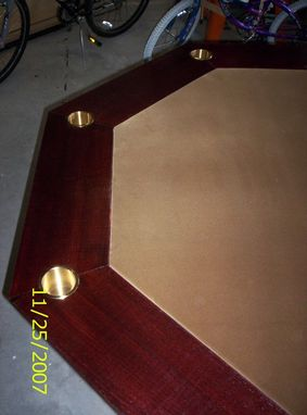 Custom Made Octogon Poker Table