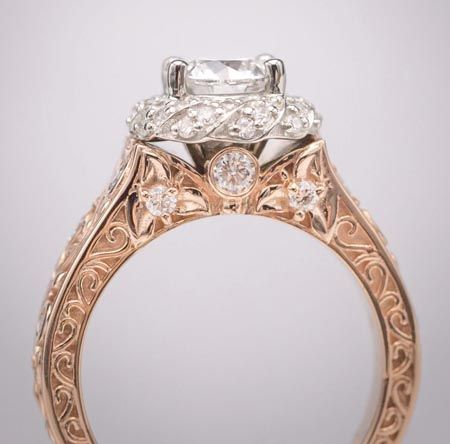 diamonds omori engagement design designed custom winnipeg rings