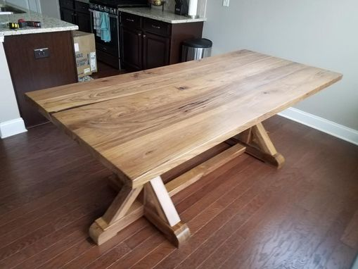 Custom Made Belgian Trestle Dining Table