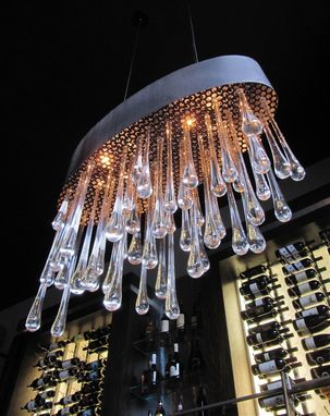 Custom Made Pioggia Ellipse: Custom Chandeliers