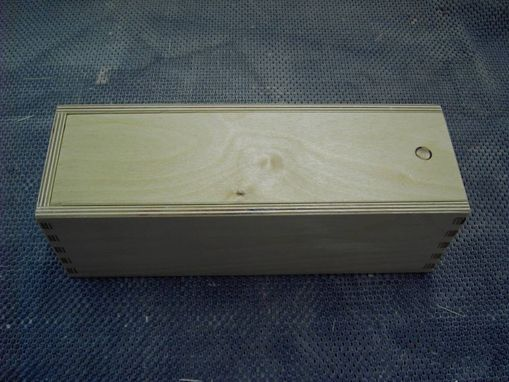 Custom Made Wooden Box For Packaging Apparel