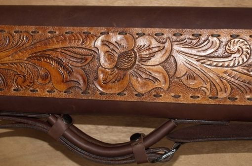 Custom Made The Mountain Gardenleather Poolstick Case