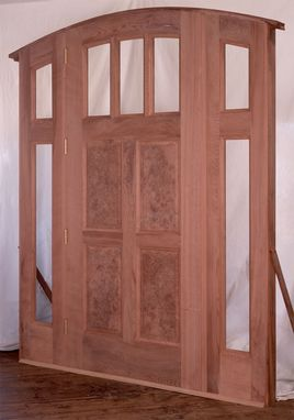 Custom Made Redwood Door