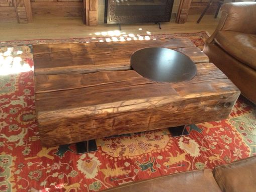 Custom Made 2 Beam Table