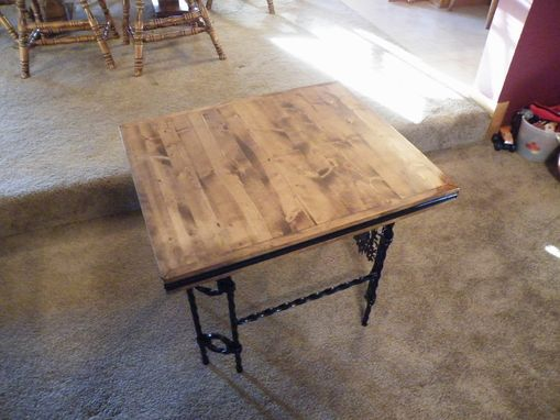 Custom Made Deer End Table