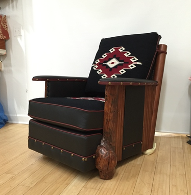 Custom Made Aztec Chair