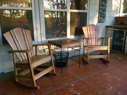 Custom Made Adirondack Rocking Chair