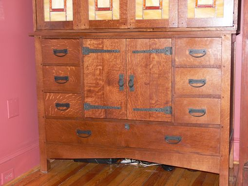 Custom Made Chippendale Corner Cabinet