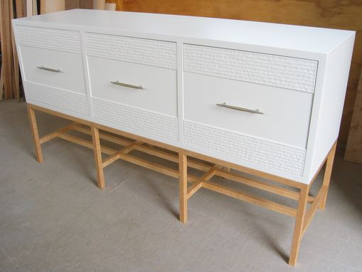 Custom Made Modern Buffet / Sideboard / Case On Stand / Mid Century