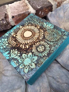 Custom Made Custom Burned Keepsake Box