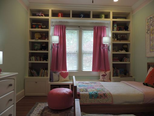 Custom Made Built In Twin Bookshelves