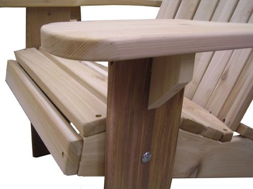 custom adirondack chair kit set by garden furniture mill, Gartenarbeit ideen