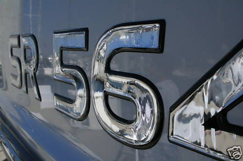 Hand Crafted Domed Numbers Boat Registration Numbers By D - Custom boat numbers