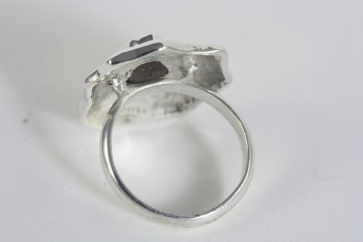 Custom Made Custom Opal Ring In Sterling Silver