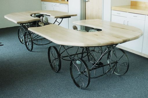 Custom Made Table, Conference - One Room Or Two - 1999