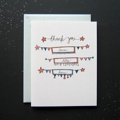 Custom Made Custom Thank-You Notes
