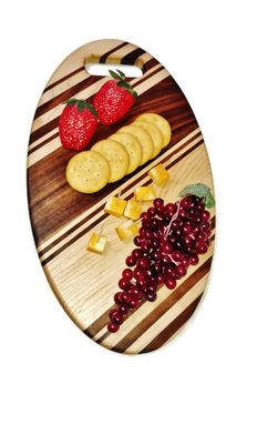 Custom Made Oval Cutting Board