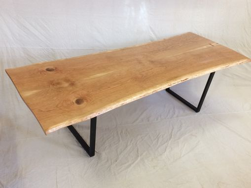 Custom Made Live Edge Cherry Table