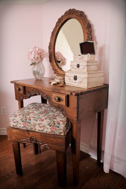 Custom Made Vanity, Dressing Table, Desk Set
