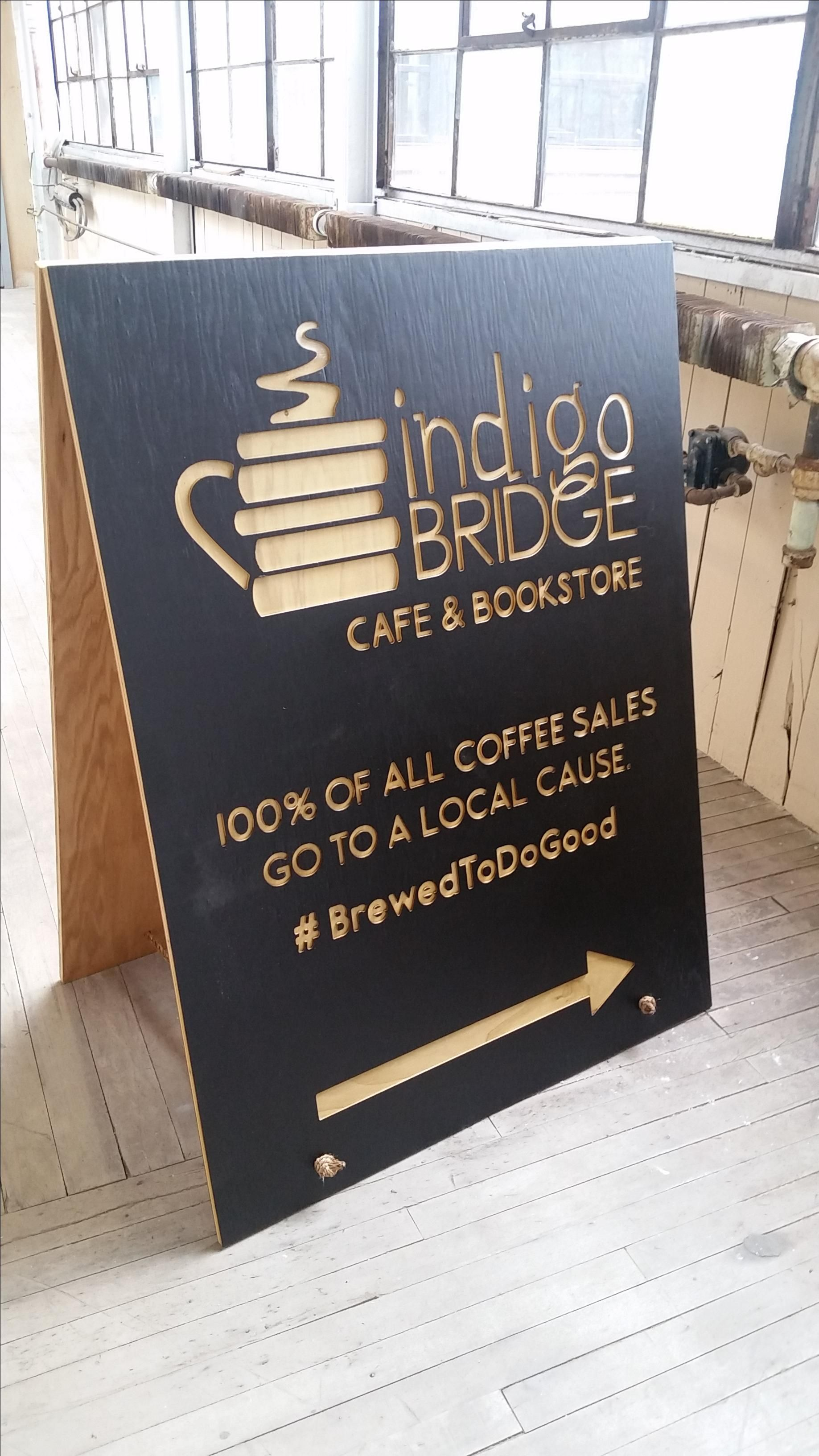Custom Made Sandwich Board Sign For Your Business By Queen