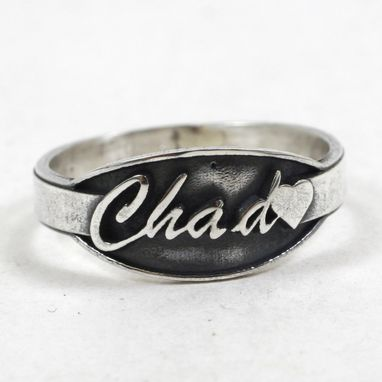 Custom Made Name Ring