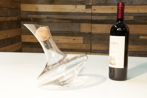 Custom Made J.R. Glass Decanter